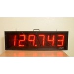 6860 LED Display 6-digit 8in/21cm tall digits